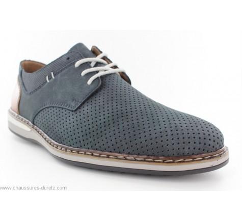 Chaussures homme Rieker FLUO Bleu 16815 14