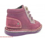 Bottines Kickers WORLD Violet / Mauve