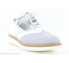 Chaussures femme Artika GENZANO Blanc / Gris