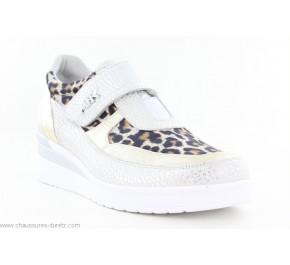 Chaussures femme Artika DURTAL Blanc / Beige
