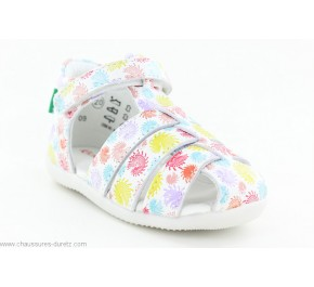 Sandales fille Kickers BIGFLO Multicolore