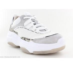 Baskets femme Mustang HALBI Blanc