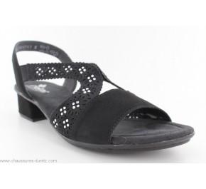 Sandales femme Rieker FORT Noir V6216-00