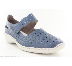 Chaussures femme Rieker FUTE Bleu 41377-12