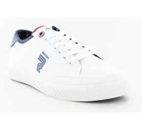 Baskets toiles homme Redskins RIGEL Blanc