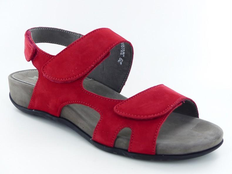 Sandales femme Méphisto JULIET Scarlet