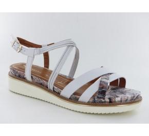 Sandales femme Tamaris SALE Blanc