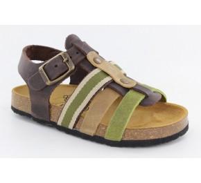 Sandales garçon Plakton PENNY Tricolore