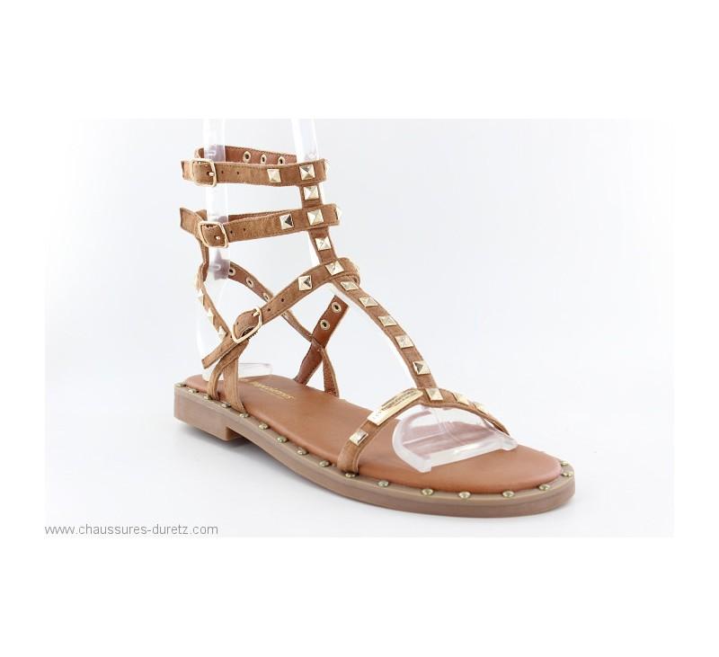 Sandales femme Les Tropéziennes CASSIE Tan