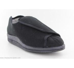 Pantoufles orthopédiques pour homme CADIZ Noir