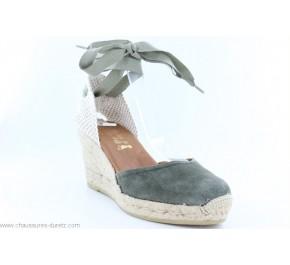 Chaussures femme La Maison de l'Espadrille ANT 805 Kaki