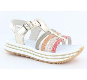 Sandales fillette Bopy ECOLO Or