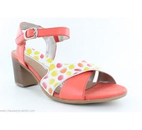 Sandales femme Remonte RAS D2151-34 Orange