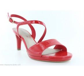 Sandales femme Tamaris SAPIN Rouge