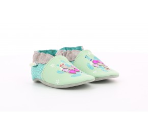 Chaussons fille Robeez OCEANIC DREAM Vert Clair