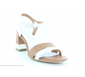 Sandales femme Tamaris ULCERE Blanc / Taupe