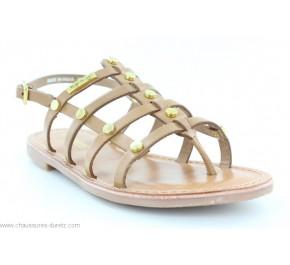Sandales filles Les Tropéziennes HAKEA Camel