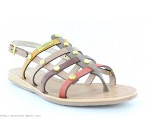 Sandales femme Les Tropéziennes HAKEA Multicolore