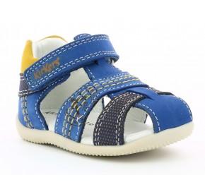 Sandales garçon Kickers BONUS Bleu / Jaune