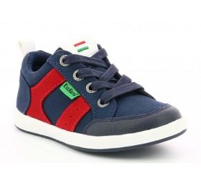 Chaussures garçon Kickers TOMILOO Marine