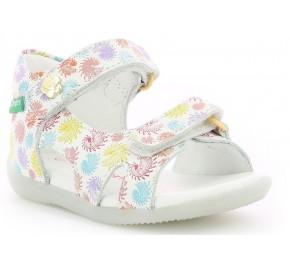 Sandales fille Kickers BINSIA Multicolore