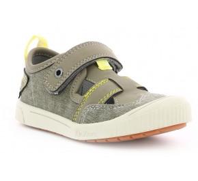 Chaussures garçon Kickers ZUT Kaki