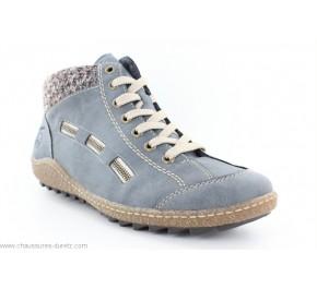 Bottines femme Rieker GABON Jeans L7543-14
