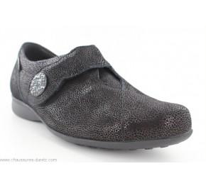 Chaussures femme Méphisto FAUSTINE Galuchat Noir