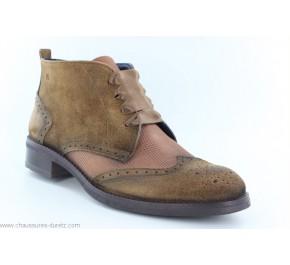 Boots femme Dorking PINCE 8256 Camel