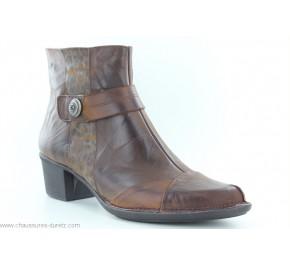 Boots femme Dorking NANO 8348 Marron