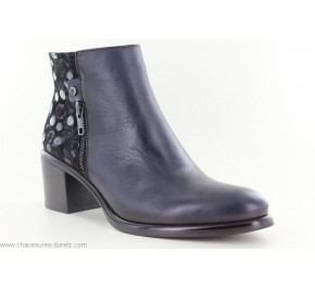 Boots femme Dorking PINOT 8357 Marine