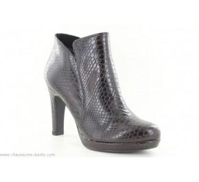 Boots femme Tamaris TAIE2 Marron Snake