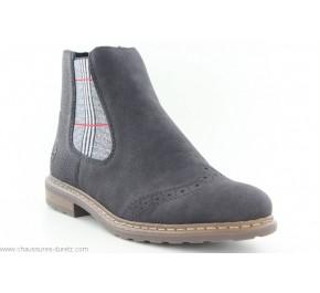 Boots femme Rieker GAEL Noir 71072-02
