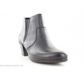 Boots femme Rieker GAULE Noir Y2170-01