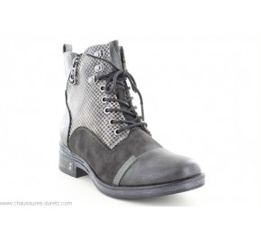 Bottines femme Mustang AVRIL 4 Graphite