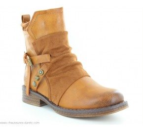 Boots femme Rieker GAP Camel 92264-24