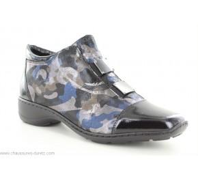 Boots femme Rieker GERA Noir 58398-00