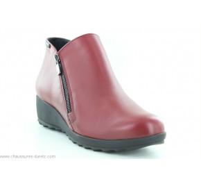 Boots femme Mephisto AMALIA Rouge / Oxblood