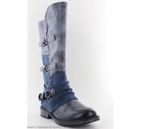 Bottes femme Rieker GARD Bleu 92284-45