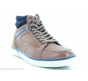 Bottines homme Redskins ZOUK Brandy / Marine