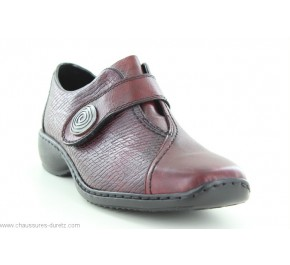 Chaussures femme Rieker GILLES Bordeaux L3870-35