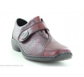 Chaussure femme Rieker - WAGAGE Marine L3870-14