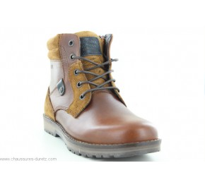 Bottines junior Redskins JEUNOT Cognac