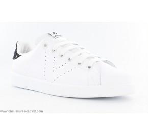 Baskets femme Victoria TOP 125104 Blanc / Noir