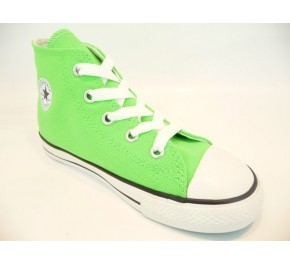 Baskets Converse ALL STAR HI Vert Fluo