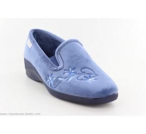 Pantoufles Femme La Maison de L'Espadrille 6935 - DOUCE Bleu
