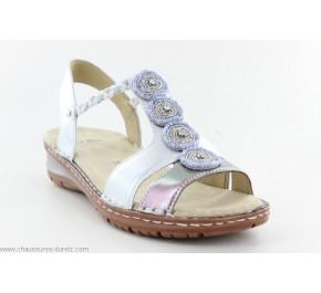 Sandales femme ARA AVIS2 Silver / Metallic