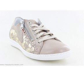 Baskets femme Méphisto HAWAI SHINY Light Taupe