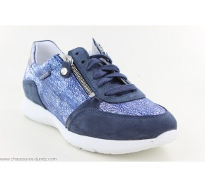Baskets femme Mephisto MONIA Jeans Blue