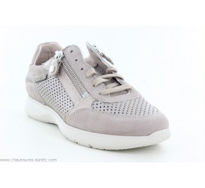 Baskets femme Méphisto MOLLY PERF Light Taupe